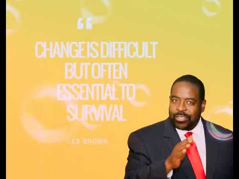 Les Brown - The Power Of Believing In Yourself. (Motivational Speech)