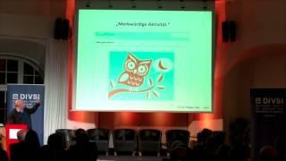 """Keynote Wolfgang Schulz (DIVSI: """"Facebook, WhatsApp, Google+: Wer macht die Regeln?"""