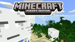 ОГРОМНЫЙ ВОЗДУШНЫЙ ШАР В Minecraft PE 1.0