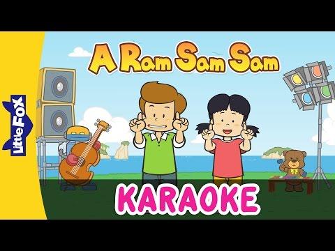 A Ram Sam Sam | Sing-Alongs | Karaoke Version | Full HD | By Little Fox
