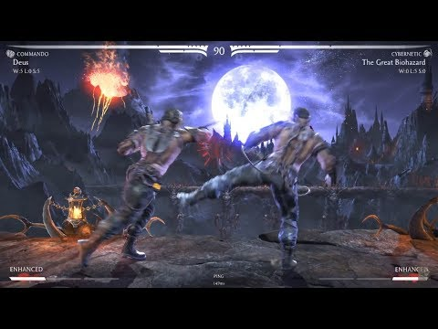 Deus (Kano - All Variation) vs The Great Biohazard (Kano - Commando/Cybernetic; Shinnok/Impostor)