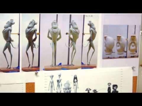 Jordi Grangel. El trabajo evolutivo durante la creación de personajes