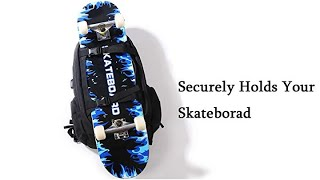 Skateboard Backpack Basketball Baseball Football Rugby Ball Soccer Ball Sports Multi-Function