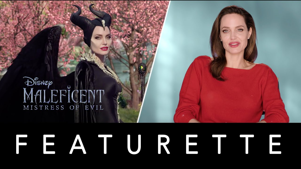 Maleficent Mistress Of Evil Behind The Scenes Featurette With Angelina Jolie