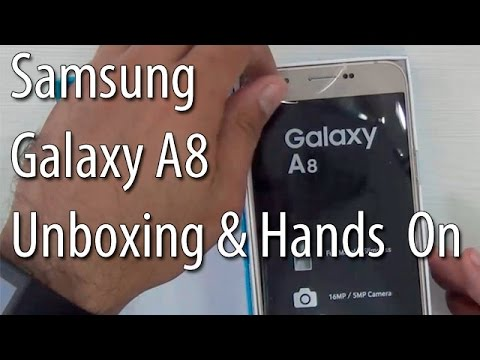Samsung Galaxy A8 Unboxing And Hands On Review