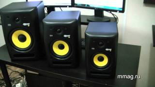 mmag.ru: KRK RP G2 & VXT series video review