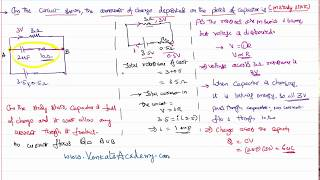 Capacity of capacitor when total capacity of circuit is given for JEE and NEET Physics