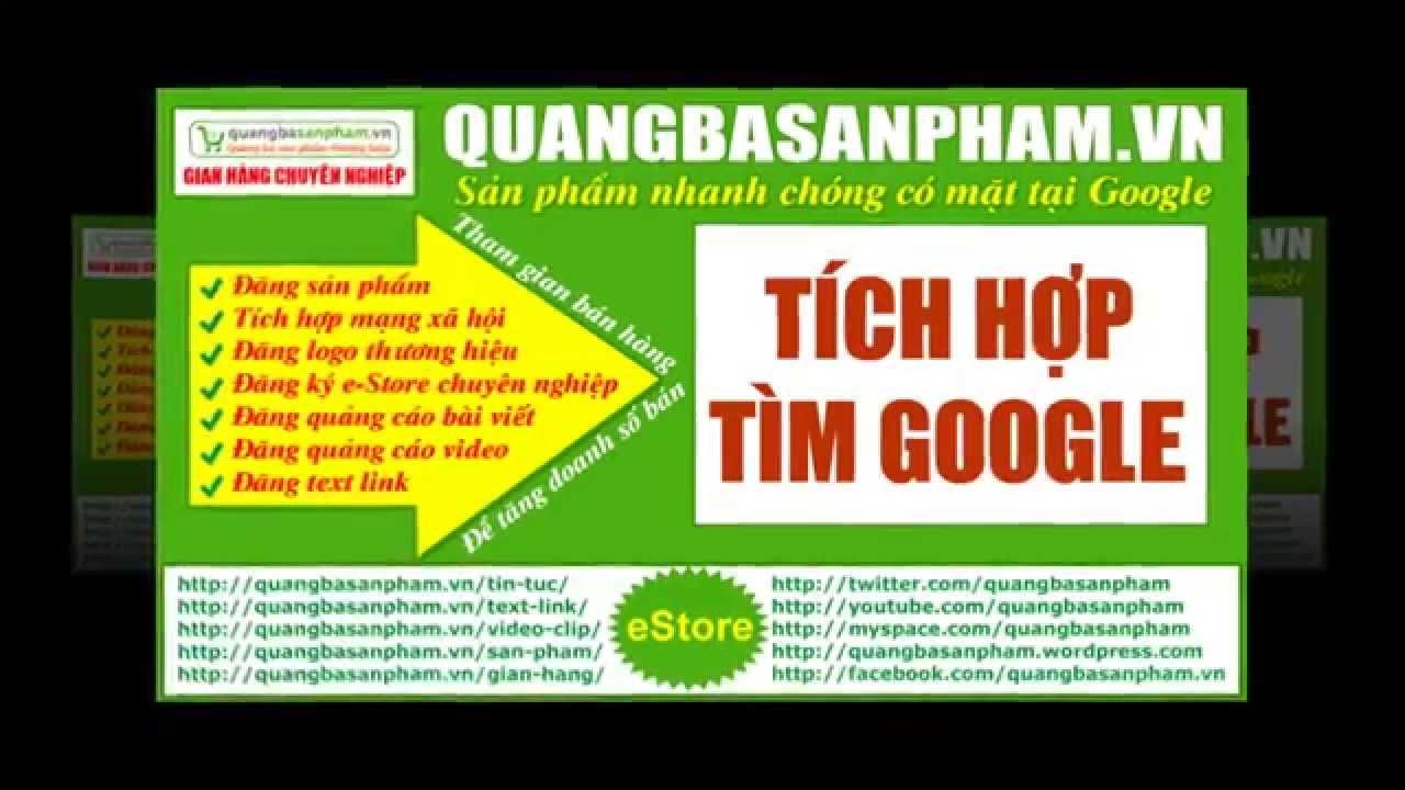 Quảng bá sản phẩm – quangbasanpham.vn