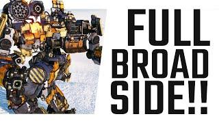 Full Broadside! Corsair DPS Build - Mechwarrior Online The Daily Dose #815