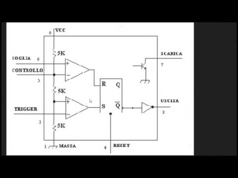 ne555 Astabile (generatore di clock)