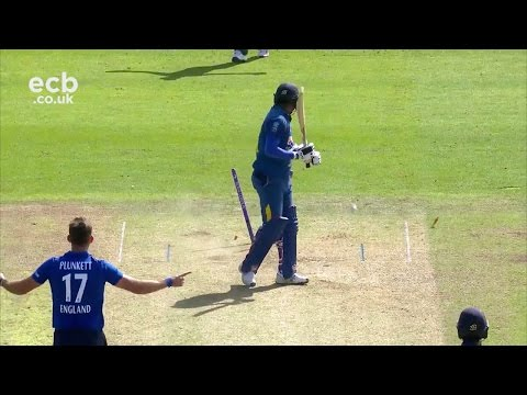 Root 93, Buttler rapid 70 and Plunkett 86 mph yorker! Cardiff highlights