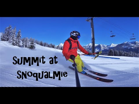 SUMMIT AT SNOQUALMIE - Epic Day In February 2020