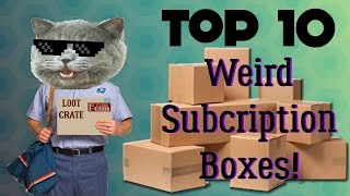 Top 10 - Weird Subscription Boxes thumbnail
