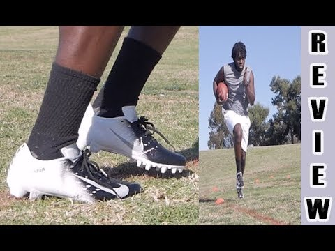 7b2f26d0cc3c Nike Vapor Untouchable Speed 3 TD Football Cleats Review - YouTube