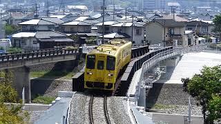 2019/4/20 普通列車(キハ125)走行@日田~光岡間(花月川橋梁)
