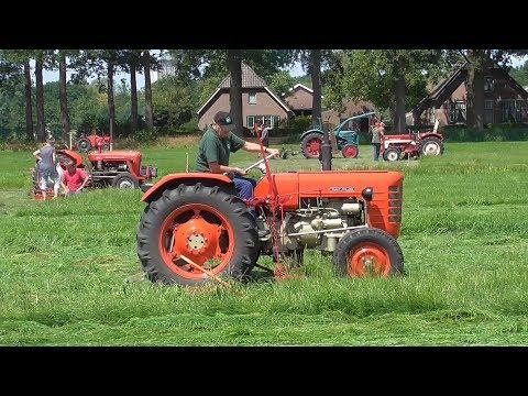 Oldtimer mowing match