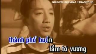 Karaoke Thành Phố Buồn Trường Vũ Beat Chuẩn