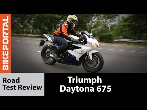 Triumph Daytona  ABS - Test Ride Review- Bikeportal