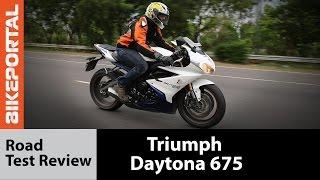 Triumph Daytona 675 ABS Review- Bikeportal