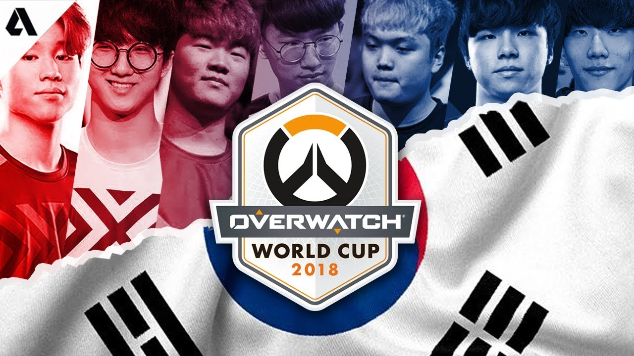 team south korea overwatch world cup 2018 trailer youtube