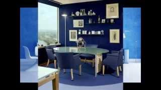 видео Синий цвет в интерьере