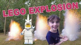 [jouet] Expérience Explosive Avec Lego Minifigures - Studio Bubble Tea Unboxing Lego
