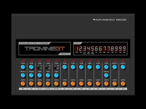 Free Roland TR-808 Rhythm Composer Drum Machine VST Emulation