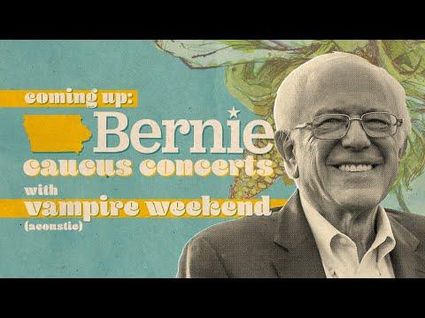 Bernie 2020 Caucus Concert Rally In Cedar Rapids