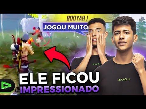 ELE FICOU IMPRESSIONADO COM O QUE FIZ NESSA PARTIDA!!