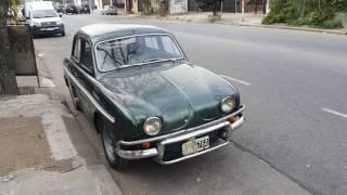 Renault Dauphine (Gordini) 1956-1967.  Buenos Aires.  Argentina.