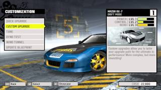 Need For Speed ProStreet RX 7 Grid Drift Edition