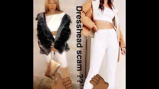 DRESSHEAD SCAM?! WISH.Com? Clothes review .