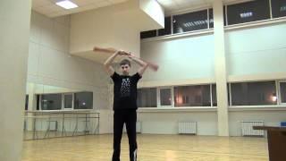 Видео уроки поинга: Мельница с раскрытием