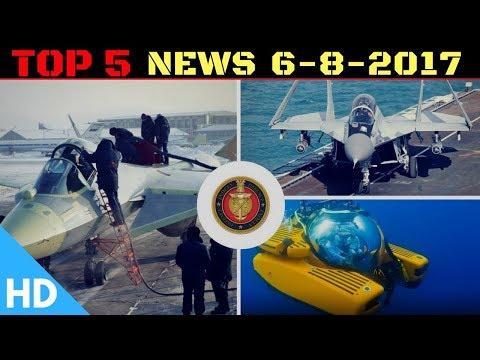 Top 5 Latest Headlines : Indian Defence Updates : FGFA Engines , MiG29K , 1st Manned Sea Vehicle