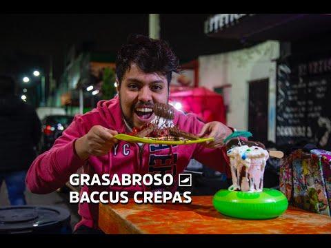 ¡Deliciosas y atascadísimas crepas dulces, con más de 50 toppings para agregar! #GRASABROSO