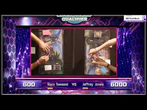 Yugioh WCQ  American Championship 2014 Rd 10 - Jeff Jones (Koa'ki Meiru) vs Royce Towsend (F.A.T)