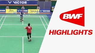 Jeju Victor Korea Masters 2016 | Badminton SF – Highlights thumbnail