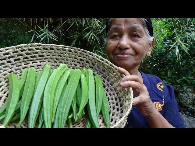 Healthy Village Foods ? Village Style Okra Fry Recipe by our Mom