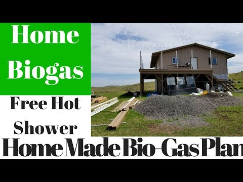 Real Bio-gas Digester Plant On-demand Hot Water Shower HomeBiogas - New Off Grid Home