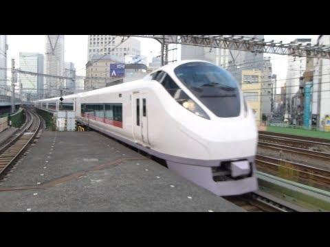 新橋駅 Japan: Trains at Tokyo's Shimbashi Station
