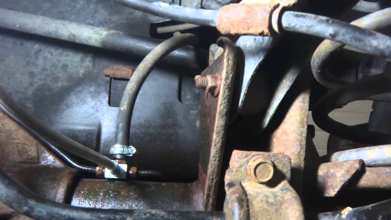 JeepTJ,XJ Stainless Steel Extended Brake Line Install  YouTube