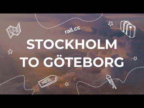 Stockholm To Göteborg By Train Snabbtåg/X2000