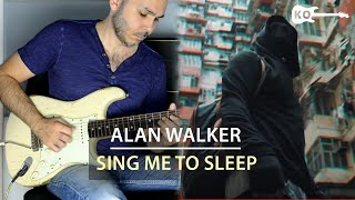 Alan Walker - Sing Me To Sleep - Electric Guitar Cover by Kfir Ochaion