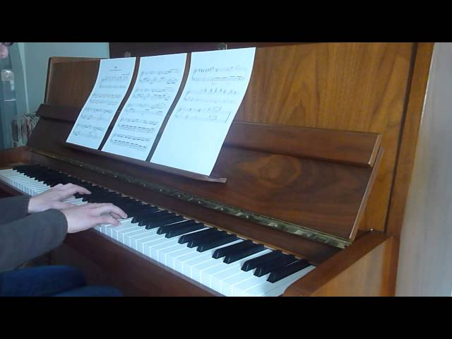 5cm per second- Kiss piano cover Travel Video