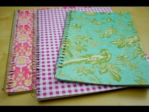 DIY Notebooks & Binders Tutorial