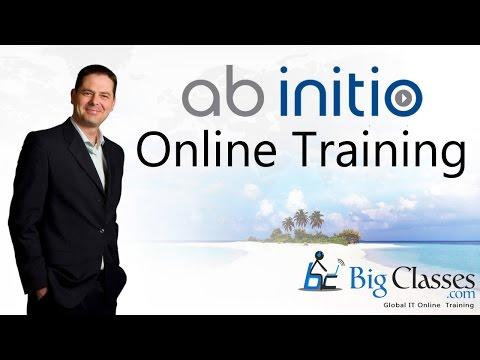 AB Initio Online Training - AB Initio Training Tutorials - BigClasses