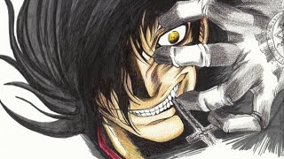 How To Draw Alucard From Hellsing Speedpaint   Como Dibujar Alucard de Hellsing