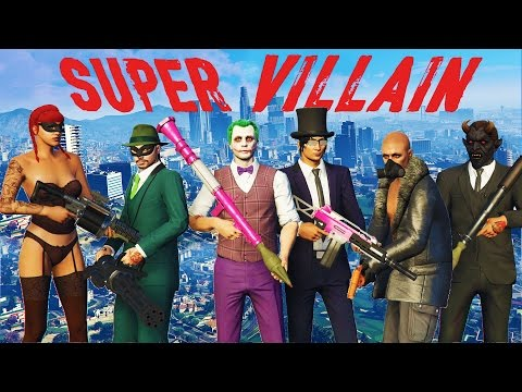GTA 5 SUPER VILLAIN Mini-Game!!!!! - New GTA 5 Game Mode Super Villain!!!