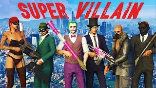GTA 5 SUPER VILLAIN Mini-Game!!!!! - New GTA 5 Game Mode Super Villain!!!
