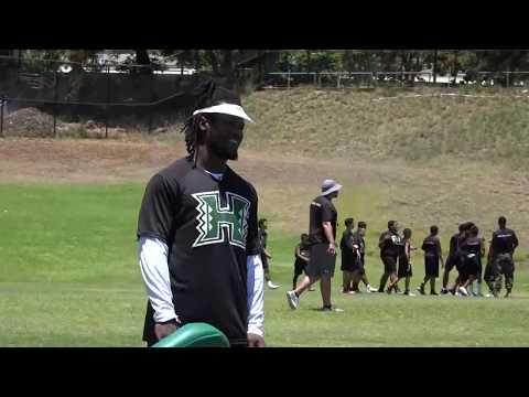 2017 Youth Impact Camp at Hawaii Football